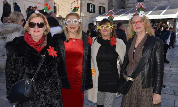2018 ladies celebrate dubrovnik