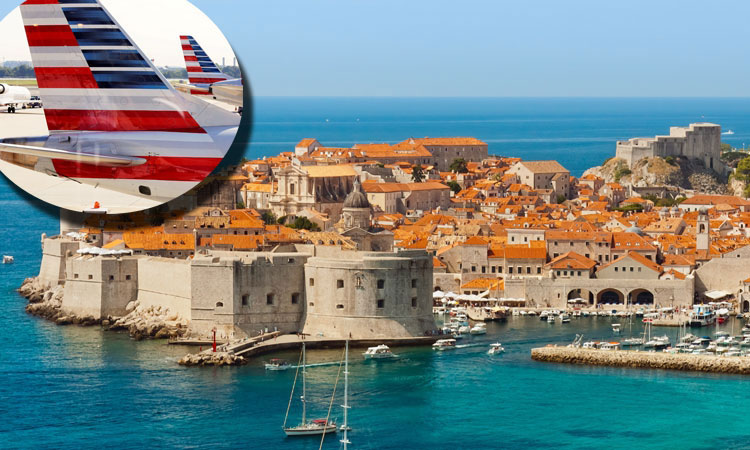 Direct flights from Dubrovnik to USA for 2019