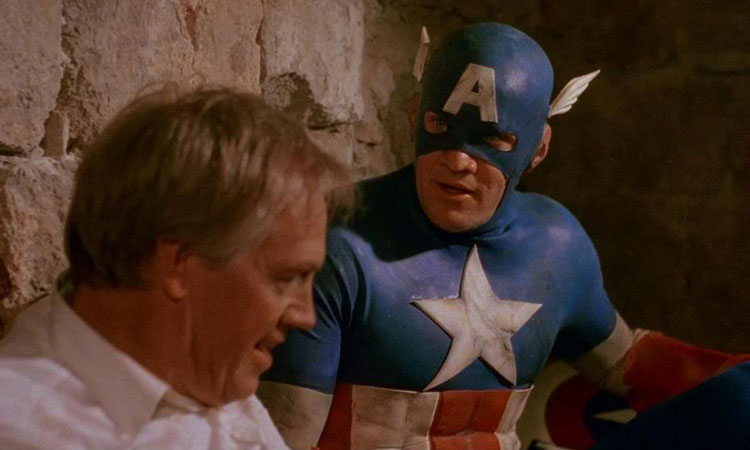 Matt Salinger and Ronny Cox in Dubrovnik Captain America