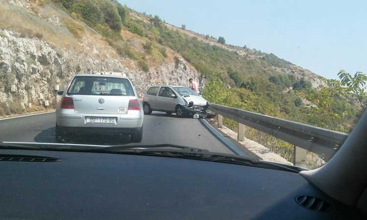 accident lucky escape dubrovnik