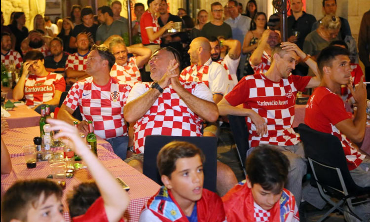 beer as croatia win first game