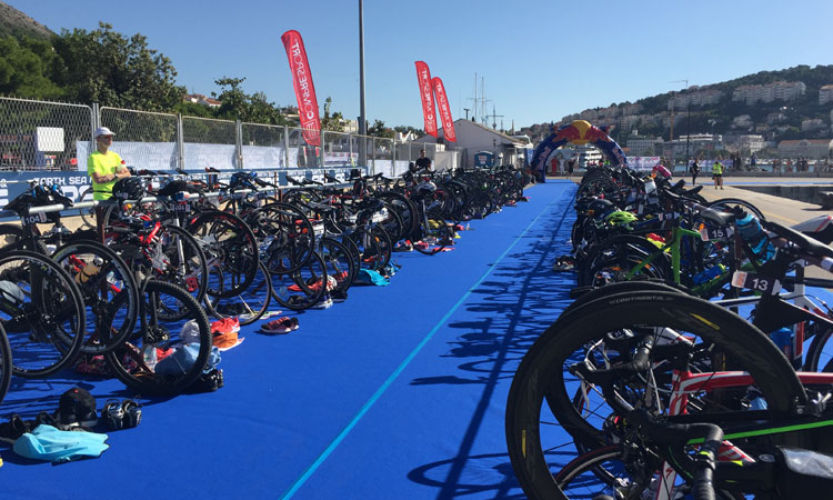 bikes for dubrovnik trialthon