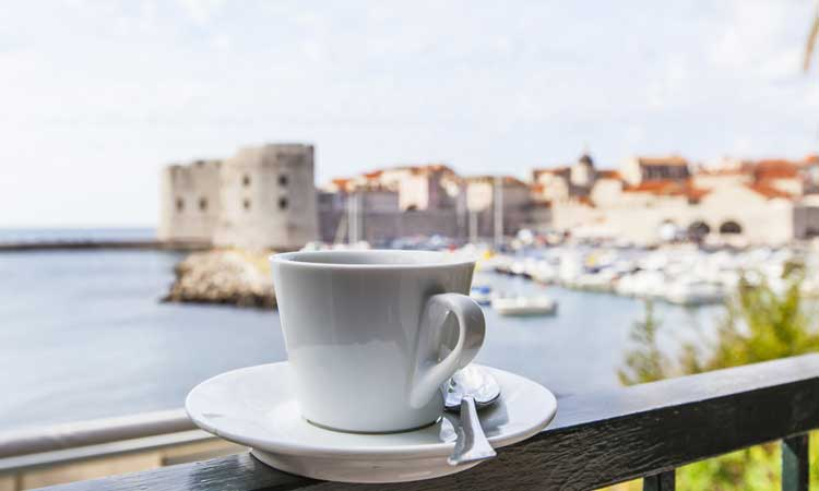 cheap coffee in dubrovnik