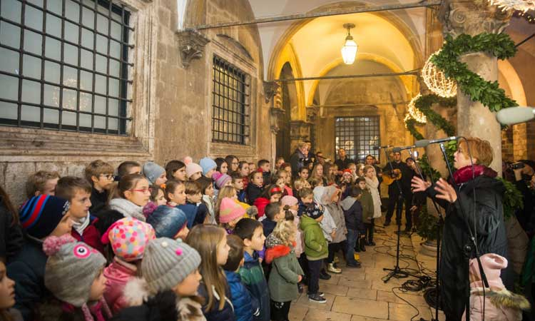 childrens choir advent dubrovnik