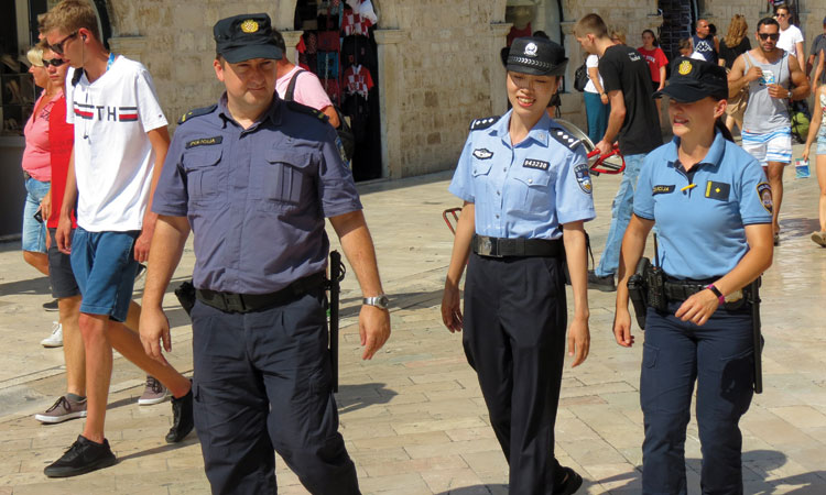 china police in dubrovnik 6