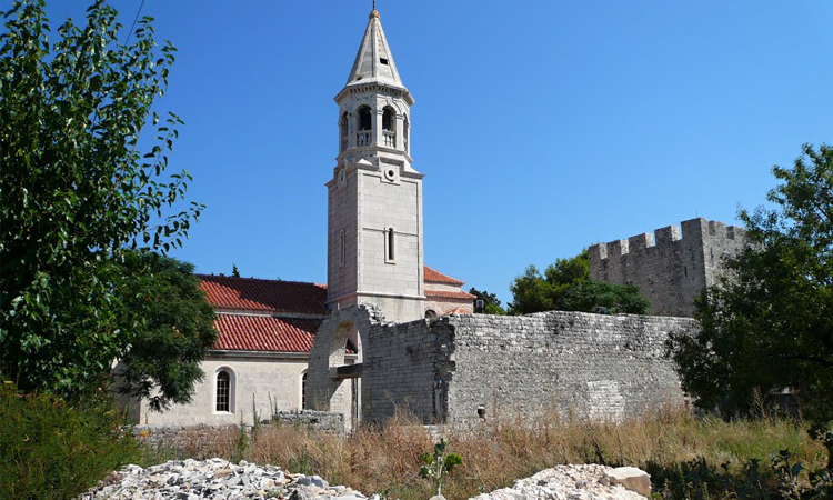 Povlje church on Brac