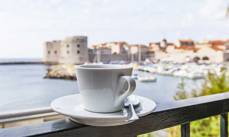 coffee cup dubrovnik