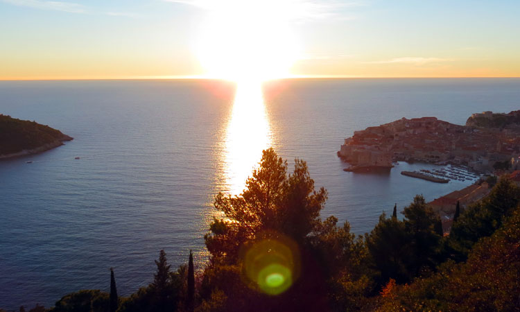 december sunhsine in dubrovnik 2017 3