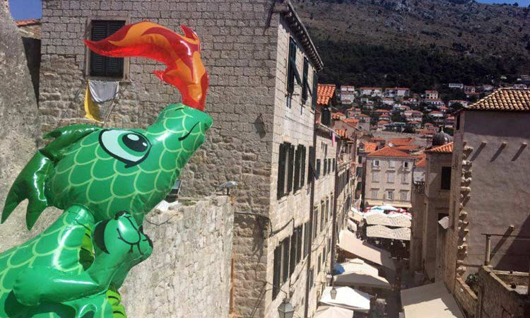 dragons in dubrovnik 2018