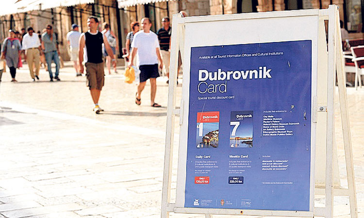 dubrovnik city card for 1 day