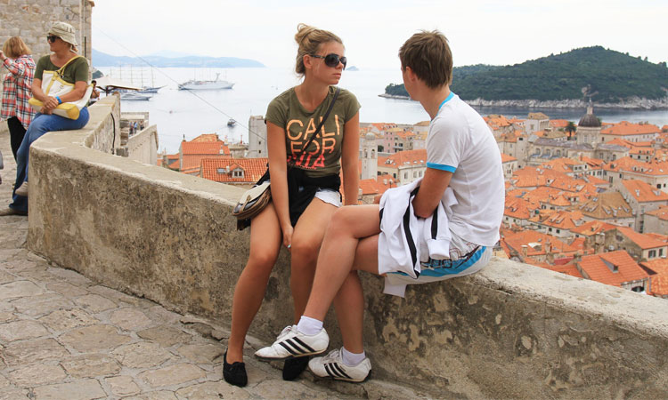 dubrovnik city walls love