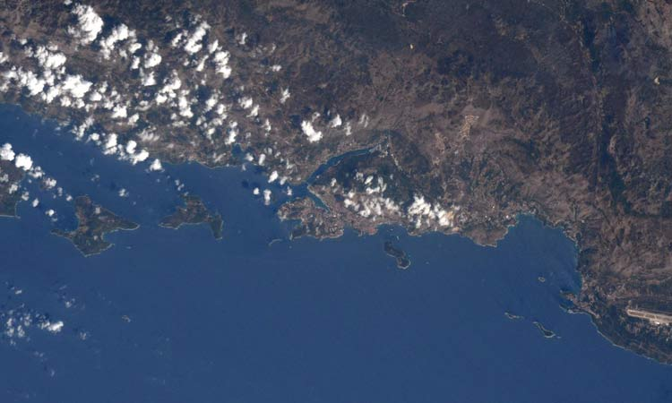dubrovnik from space 2018