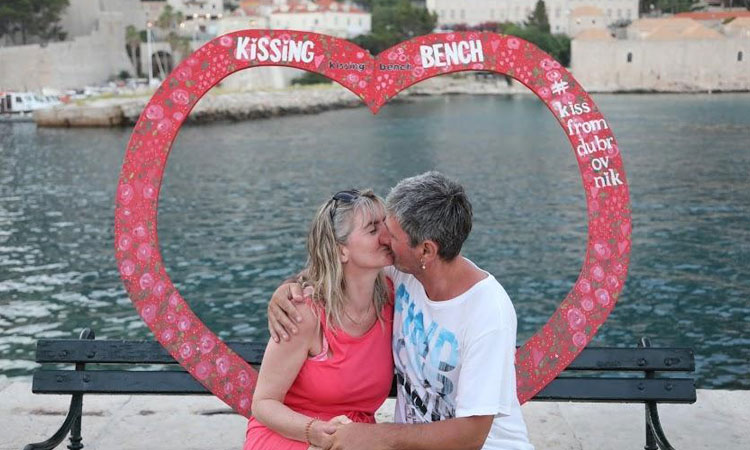 dubrovnik kiss 2019 july