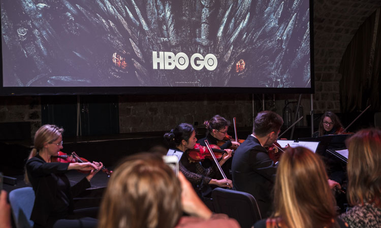 dubrovnik orchestra plays game of thrones theme tune