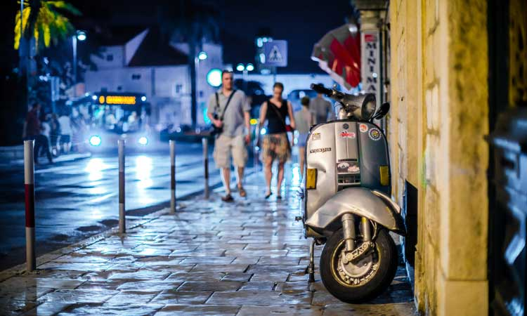 dubrovnik scooter