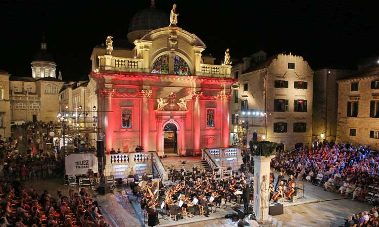end of dubrovnik summer festioval
