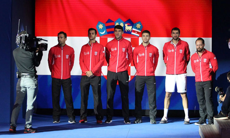 Coric, Cilic put Croatia in charge of Davis Cup final
