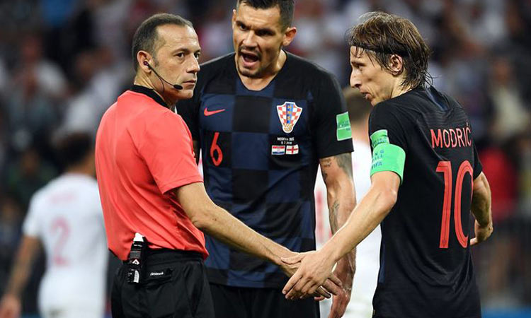 Pride costs Croatia's striker a place in World Cup final