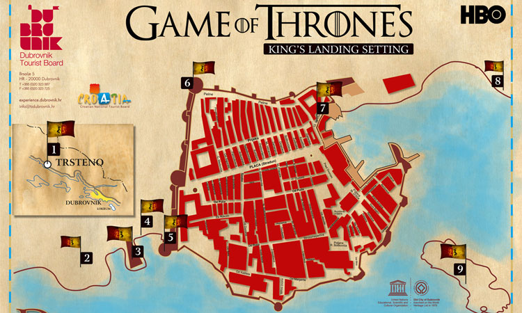 filming locations game of thrones
