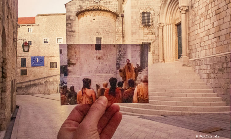 game of thrones photo in dubrovnik 2020