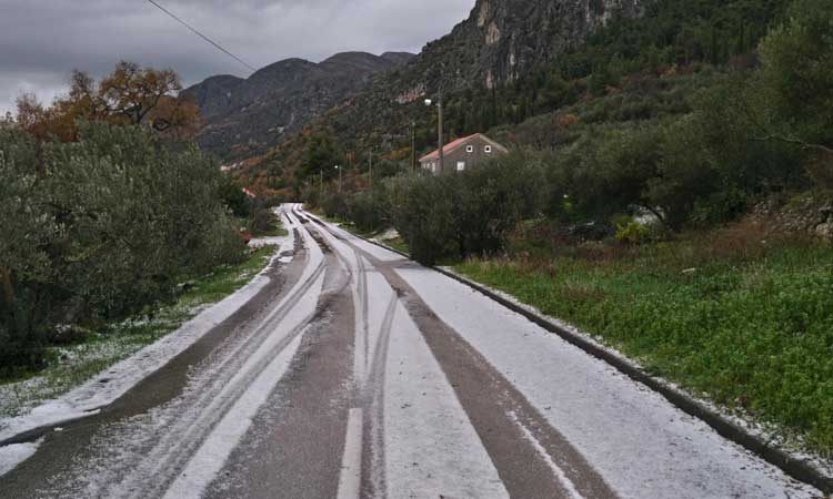 hail in konavle for christmas