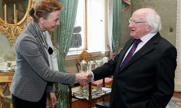 ireland croatia politicans meet