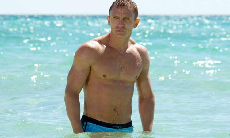 james bond in sea