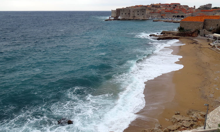 Goodbye warm weather in Dubrovnik…hello winter - The