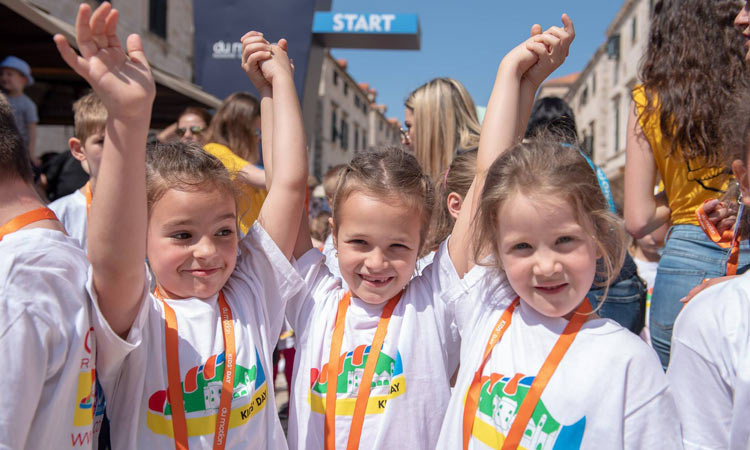 kids day dubrovnik du motion 2018