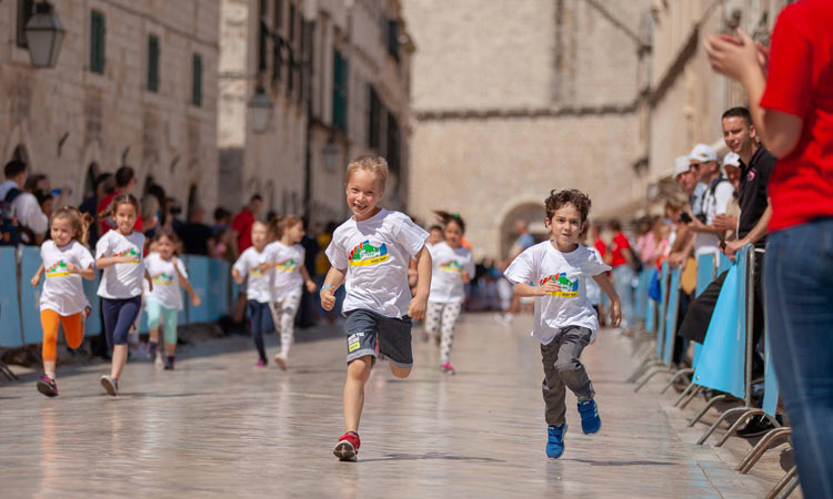 kids day race in dubrovnik 2018
