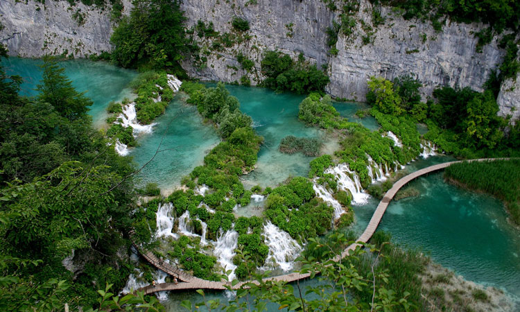 lakes croatia national park amazing