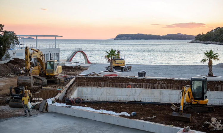lapad beach getting a complete new look for summer