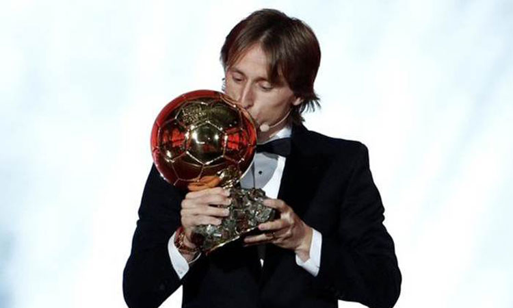 luka modric wins ballon dor in paris
