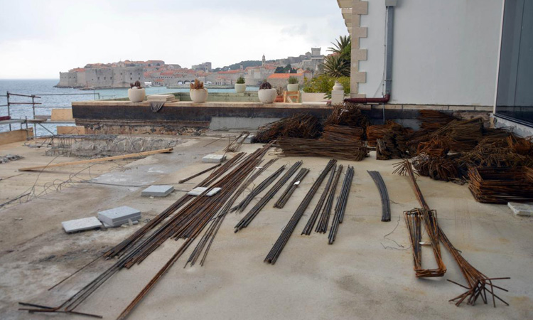 major reconstruction of iconic dubrovnik hotel
