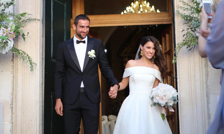 marin cilic gets married in cavtat dubrovnik