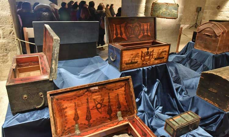maritime chests exhibition dubrovnik