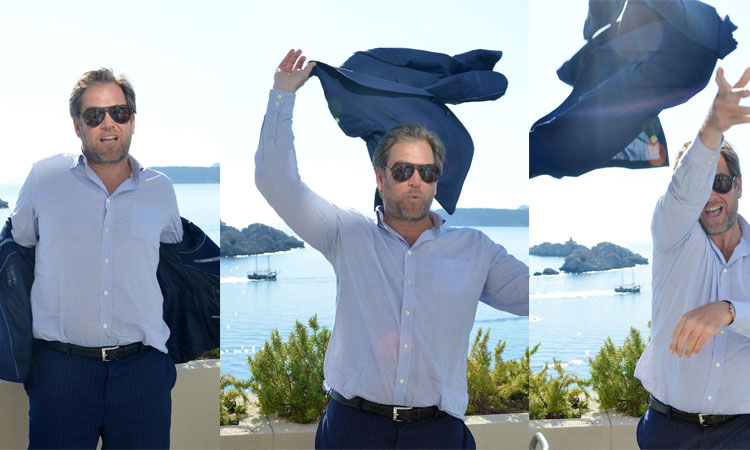 micheal weatherly strip tease