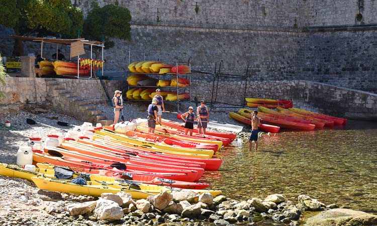 new position for dubrovnik kayaks