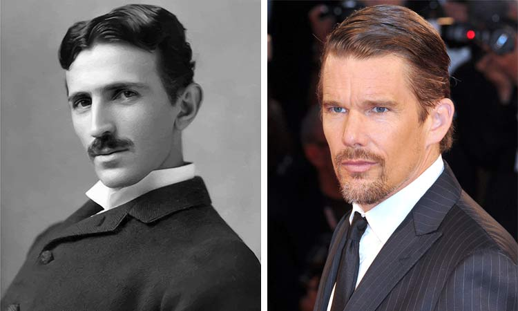 nikola tesla ethan hawke 2018 movie