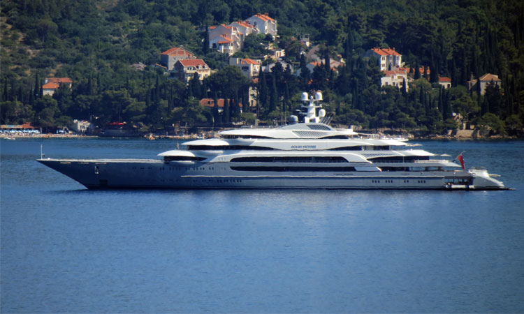 Russian Oligarch Turns Heads With The 11th Largest Yacht In The