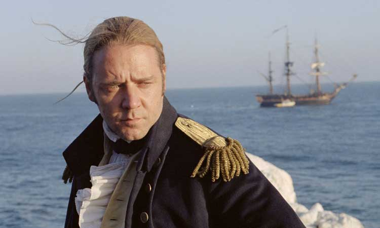 russel crowe master and commander