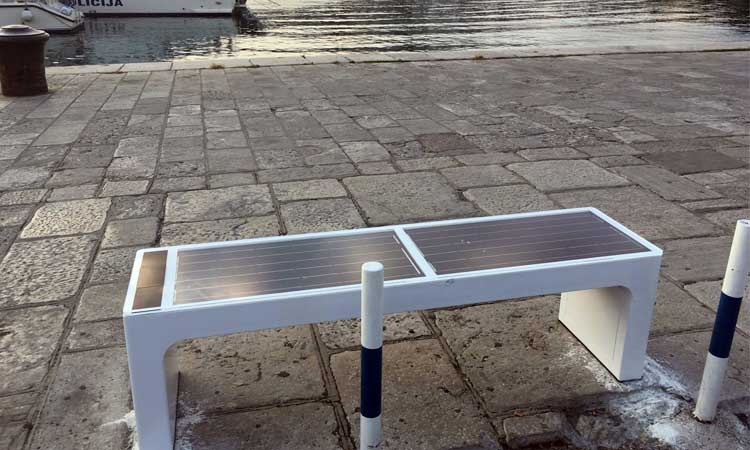 smart benches dubrovnik