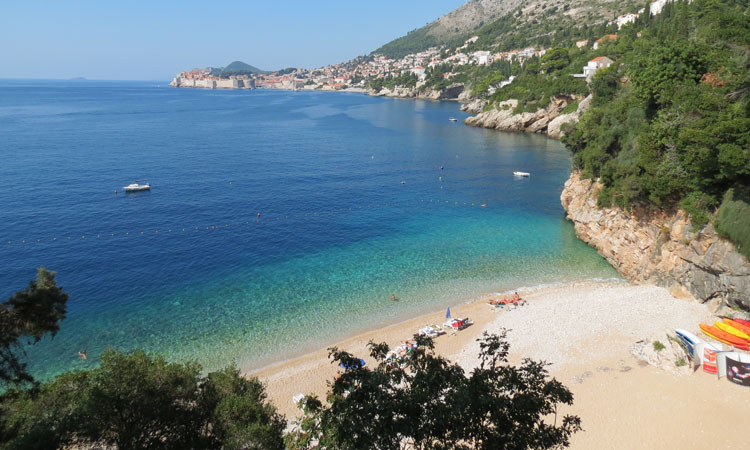 st jacob beach dubrovnik