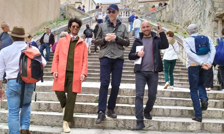 stephen merchant in dubrovnik