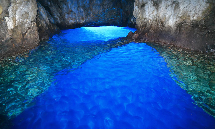 vis blue cave croatia unesco