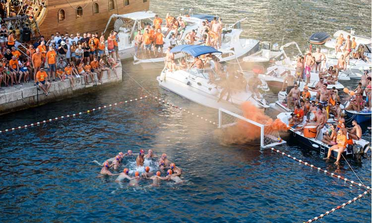 water polo wild league dubrovnik final