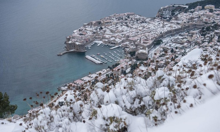 Dubrovnik Snow | Stunning Photos Snow Fairytale In Dubrovnik The Dubrovnik Times