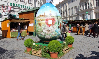 Croatian Easter Egg in Vienna