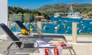 Average rental price of a holiday apartment in Croatia is 67 euros per night