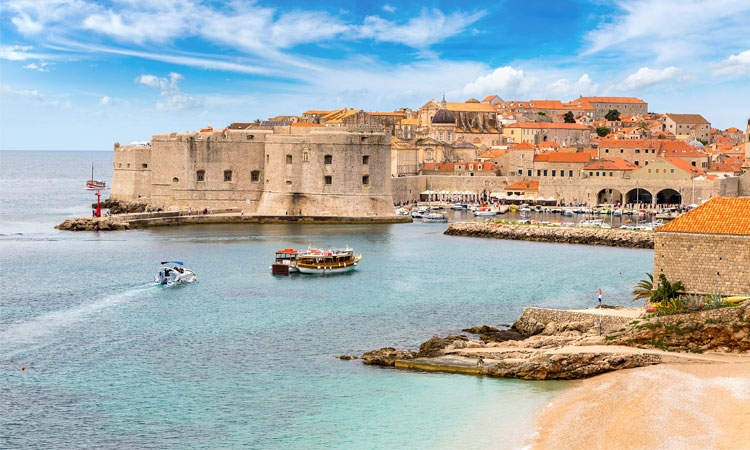 Dubrovnik's tourism industry starting from zero